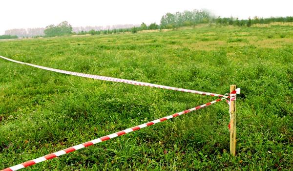 Вынос земельного участка