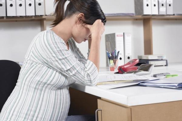 Сокращение беременной